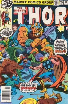 Journey into Mystery / Thor Vol 1 (Comic Book) #277