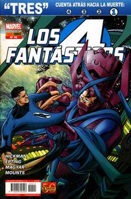 Los 4 Fantásticos / Los Cuatro Fantásticos Vol. 7 (2008-) (Grapa 24-48 pp) #45