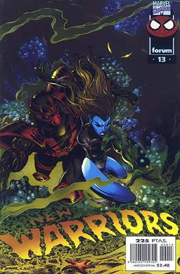 The New Warriors vol. 3 (1996-1997) (Grapa. 17x26. 24 páginas. Color.) #13