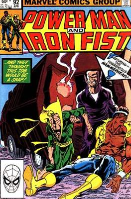Hero for Hire / Power Man Vol 1 / Power Man and Iron Fist Vol 1 (Comic Book) #92