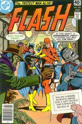 Flash Comics / The Flash (1940-1949, 1959-1985, 2020-) (Comic Book 32 pp) #275