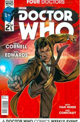 Doctor Who: Four Doctors (Comic Book) #2