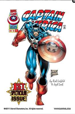 Captain America Vol. 2 - Heroes Reborn (1996-1997 Variant Cover)