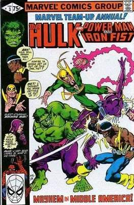 Marvel Team-Up Annual (Comic Book. 1976 - 1984) #3