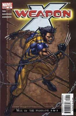 Weapon X Vol. 2 (2002-2004) (Comic Book) #25