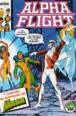 Alpha Flight vol. 1 / Marvel Two-in-one: Alpha Flight & La Masa vol.1 (1985-1992) (Grapa 32-64 pp) #26