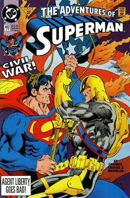 Superman Vol. 1 / Adventures of Superman Vol. 1 (1939-2011) (Comic Book) #492