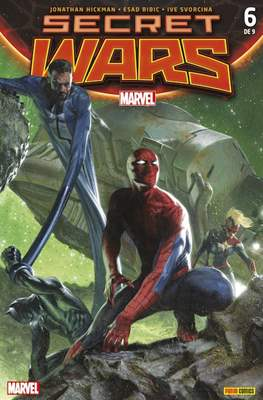Secret Wars (2015 Portadas alternativas) (Grapa) #6