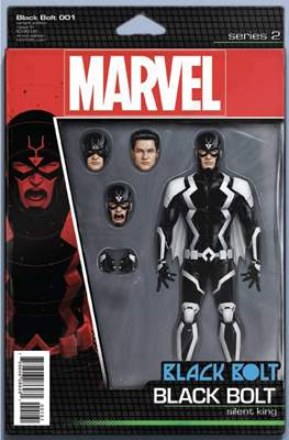 Black Bolt (Variant Covers) #1.3