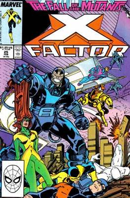 X-Factor Vol. 1 (1986-1998) (Comic Book) #25