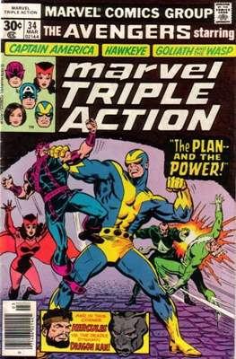 Marvel Triple Action Vol 1 (Comic-book.) #34