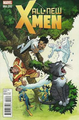 All-New X-Men Vol. 2 (Variant Cover) #4.1