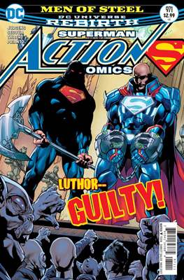 Action Comics Vol. 1 (1938-2011; 2016-) (Comic Book) #971