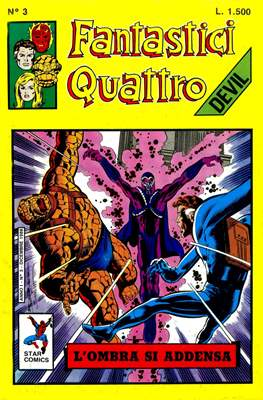 Fantastici Quattro (Spillato) #3