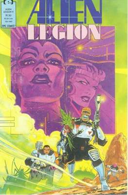 Alien Legion Vol 2 #9