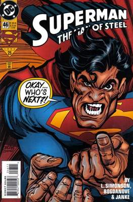 Superman: The Man of Steel (Comic book) #46