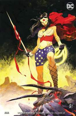 Wonder Woman Vol. 5 (2016- Variant Cover) #62