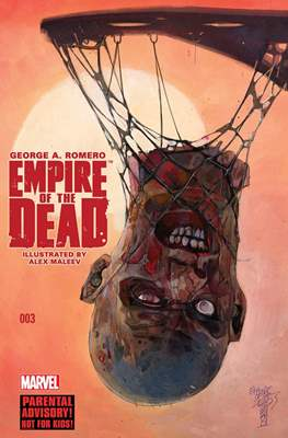 George A. Romero Empire of the Dead (comic-book) #3