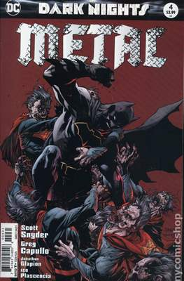 Dark Nights: Metal (Variant Covers) (Comic Book) #4.1