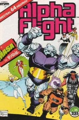 Alpha Flight Vol. 1 / Marvel Two-in-one: Alpha Flight & La Masa Vol.1 (1985-1992) (Grapa 32-64 pp) #35