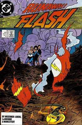 The Flash Vol. 2 (1987-2006) (Comic Book) #25