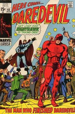 Daredevil Vol. 1 (1964-1998) (Comic Book) #62