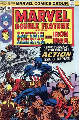 Marvel Double Feature Vol 1 (Grapa, 32 págs. (1973-1977)) #10