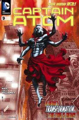 Captain Atom The New 52! (2011-2012) #9