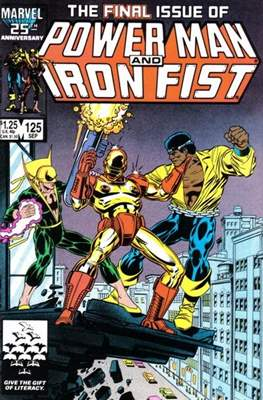 Hero for Hire / Power Man Vol 1 / Power Man and Iron Fist Vol 1 (Comic Book) #125