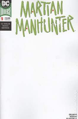 Martian Manhunter Vol. 5 (2018-...Variant Cover) (Comic Book) #1.1