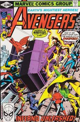 The Avengers Vol. 1 (1963-1996) (Grapa) #193