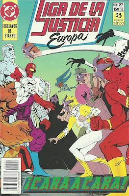 Liga de la Justicia Europa (1989-1992) (Grapa) #27