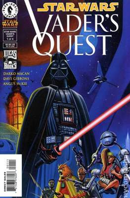 Star Wars - Vader's Quest (1999) (Comic Book) #1