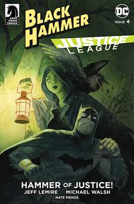 Black Hammer / Justice League: Hammer of Justice (Variant Cover) (Comic Book) #4.3
