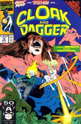 Cloak and Dagger Vol. 3 (1988-1991) (Comic-book.) #18