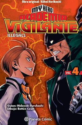 My Hero Academia: Vigilante Illegals (Rústica con sobrecubierta) #4