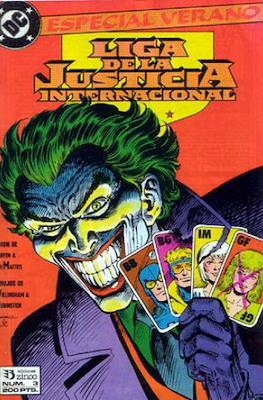 Liga de la Justicia / Liga de la Justicia internacional / Liga de la Justicia de America. Especiales (1988-1991) (Grapa) #3