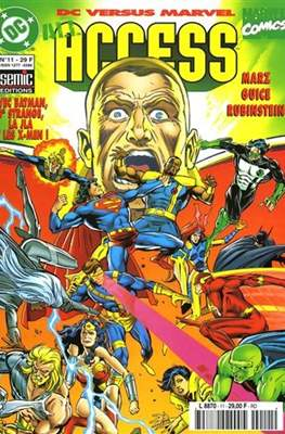 DC versus Marvel (Agrafé) #11