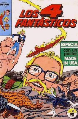 Los 4 Fantásticos Vol. 1 (1983-1994) (Grapa 36-32-24 pp) #21