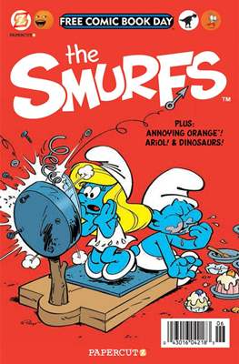 The Smurfs. Free Comic Book Day 2014