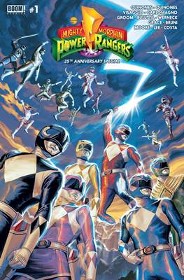 Mighty Morphin Power Rangers Anniversary Special