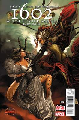 1602: Witch Hunter Angela (Comic Book) #4