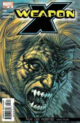 Weapon X Vol. 2 (2002-2004) (Comic Book) #28