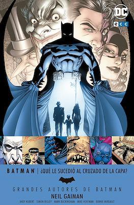 Grandes Autores de Batman: Neil Gaiman. ¿Qué le sucedió al Cruzado de la Capa?