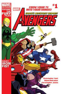 Marvel Universe: Avengers Earth's Mightiest Heroes