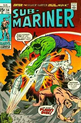 Sub-Mariner Vol. 1 #34