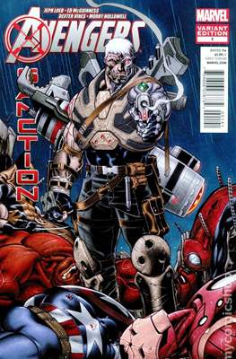 Avengers: X-Sanction (Variant Covers) (Comic Book) #1.2