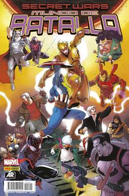 Secret Wars: Mundo de Batalla (2015-2016) (Grapa 48 pp) #1