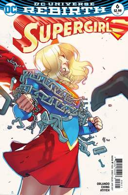 Supergirl Vol. 7 (2016-... Variant Cover) #6