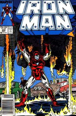 Iron Man Vol. 1 (1968-1996) (Comic book) #222